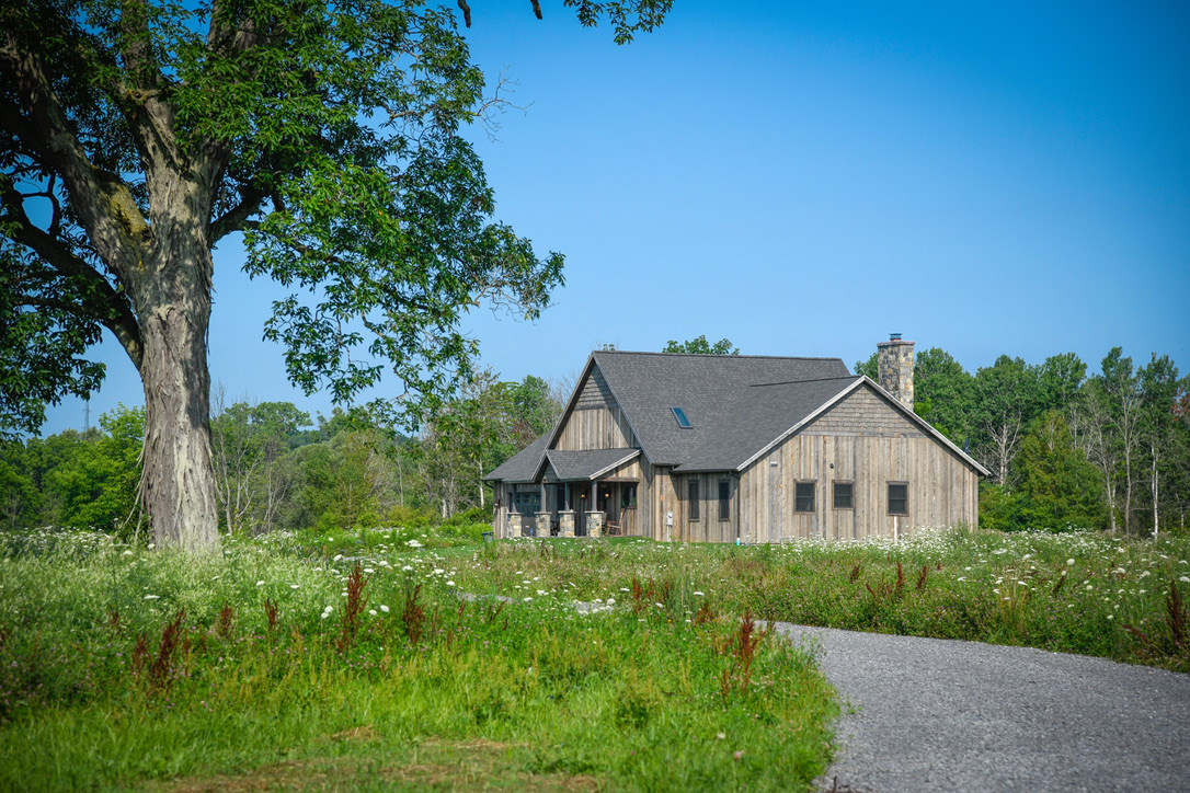 Exterior_Rush_NY_Rustic_Ranch_Vertical_Barnwood_Siding_Cedar_Shake_Country