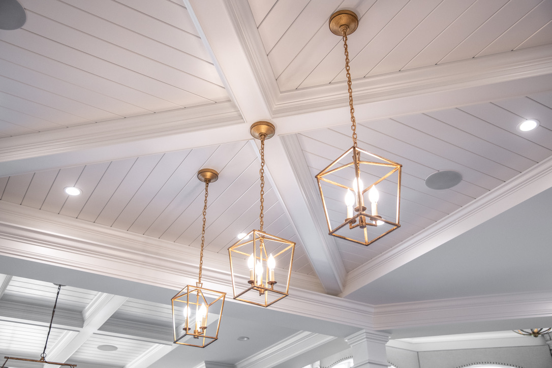 Kitchen_Fairport_NY_Coffered_Ceiling_Crown_Beaded_Panel