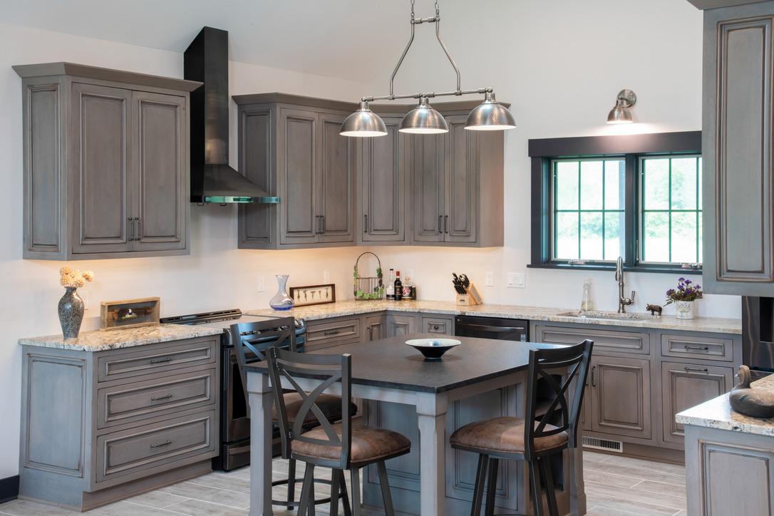 Kitchen_Rush_NY_Island_Gunmetal_Rustic_Alder_Granite_Counter_Top-1