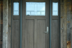 Exterior_Rush_NY_Vertical_Barnwood_Siding_Front_Entry_Door