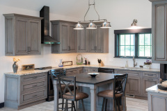 Kitchen_Rush_NY_Island_Gunmetal_Rustic_Alder_Granite_Counter_Top-1